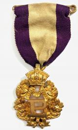 Primrose League Honorary Knight of the league badge