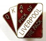 Liverpool Football supporters club badge by Coffer