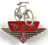 Birmingham Small Arms Co BSA Cycle advertising badge