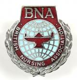 British Nursing Association overseas badge