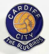 Cardiff City football supporters club badge