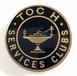 Toc H Services Club home front badge