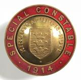 Kingston Upon Hull 1914 Special Constable police reserve badge