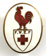 WW1 French Wounded Emergency Fund badge