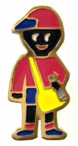 Robertsons c1996 Golly paperboy badge