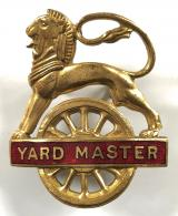 British Railways Midland Region Yard Master cap badge