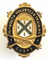 WW1 Plymouth Volunteer Training Corps VTC badge