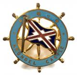 RMS Arundel Castle Union-Castle Shipping Line ships wheel badge