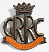 Goodwood Road Racing Club GRRC 2006 membership badge