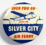 Silver City Air Ferry promotional badge