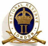National Reserve Class II Hammersmith London home front badge