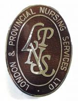 London & Provincial Nursing Service Ltd badge