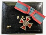 Royal Red Cross 2nd class George V medal Garrard case