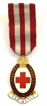 British Red Cross Society Medal For Merit Badge
