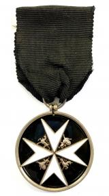 Order of St John officers serving brother breast badge