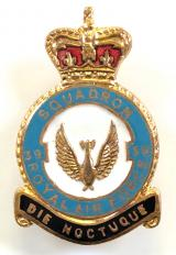 RAF No 39 Fighter Squadron Royal Air Force badge circa 1950s