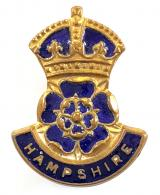 Girl Guides County of Hampshire badge by Butler