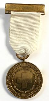 British Red Cross Society 1914 -1918 war service medal