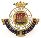 WW1 Bristol Volunteer Regiment Coliseum Corps VTC badge