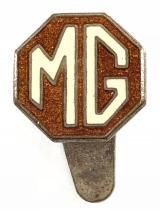MG Car Company vintage advertising lapel badge