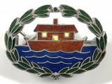 Girl Guides Our Ark houseboat badge