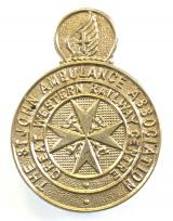 Great Western Railway Centre St John Ambulance Assoc badge