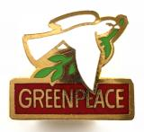 Greenpeace political activists supporters badge