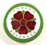 Womens Suffrage Votes For Women Suffragette political badge