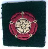 Catterick Garrison cloth formation sign badge