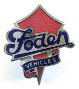 Foden Vehicles lorry and bus manufacturers advertising badge