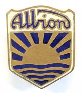 Albion Motors lorry and bus manufacturers advertising badge