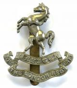 20th County of London Battalion Blackheath and Woolwich cap badge