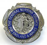 General Nursing Council State Registered Nurse SRN badge unnamed