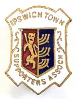Ipswich Town football supporters club badge