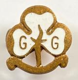 Girl Guides MINIATURE trefoil promise badge by Nelson Products