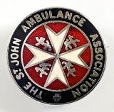 St John Ambulance Association lapel badge