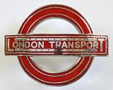 London Transport tram trolleybus driver and conductor cap badge