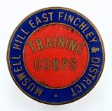 WW1 Muswell Hill Volunteer Training Corps VTC badge