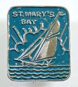 St Marys Bay Kent holiday camp yacht badge