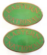 Eastern National Bus Company matching pair of collar badges circa 1960's