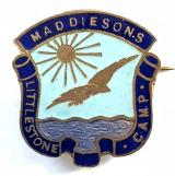 Maddiesons Littlestone holday camp badge