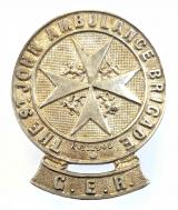 St John Ambulance Brigade Great Eastern Railway arm badge