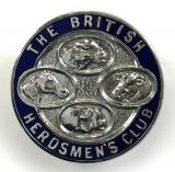 The British Herdsmen's Club membership badge