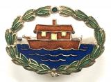 Girl Guides Our Ark houseboat badge by J.R.Gaunt