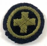 Girl Guides child nurse proficiency felt cloth badge