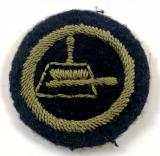 Girl Guides domestic service proficiency felt cloth badge