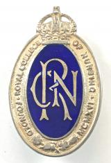 Royal College of Nursing nurses silver union badge