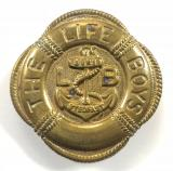 The Life Boys large jersey brass utility restrictions badge
