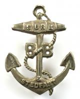Boys Brigade three year anchor badge circa 1888 to 1926