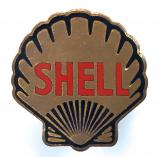Shell Oil Company motor and aircraft petrol advertising badge by Gaunt